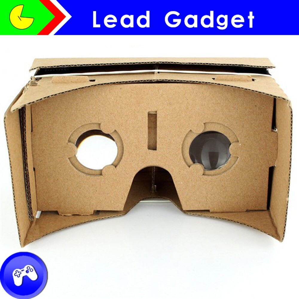 Diy Google Cardboard Kit Accessories Virtual Reality Vr Mobile Phone 3d Viewing Glasses