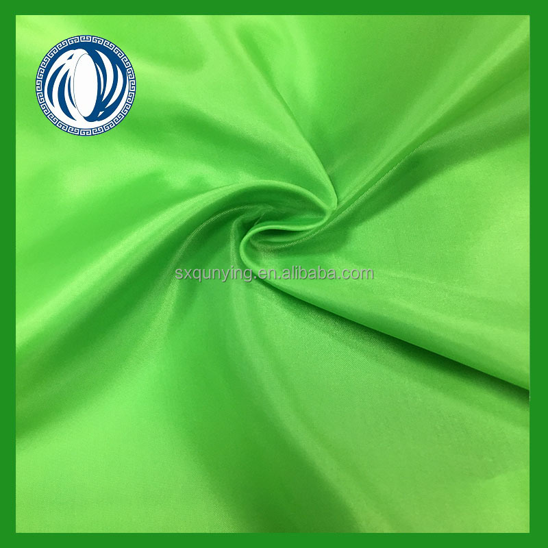 factory price 190T 80g/m 100% polyester taffeta on hot sales