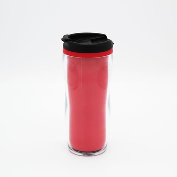 16oz OEM Artist Double Wall Travel Mugs, Plastic Coffee Tea Mug Cup  Tumbler, View double wall insulated travel mug, Loncin Product Details from  Wuyi
