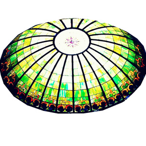 tempered tiffany lamps stained glass tempered stained glass ceiling lamp