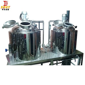 1bbl 2bbl electric brew kettle turnkey mini beer brewing system