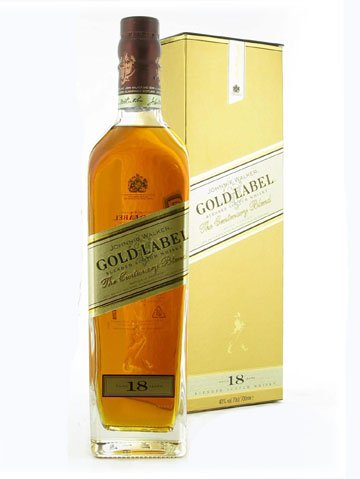 JOHINNIE WALKER GOLD LABEL