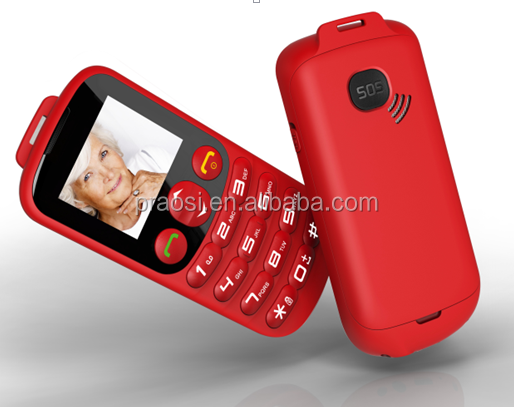 Old People Mobile Phone Big keypad Big Fonts FM Radio No Camera Dual SIM SOS elder Phone