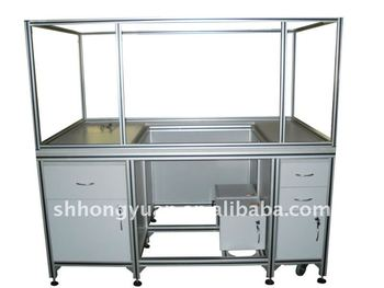 855ffd43af1033 Multicapable Aluminum Extrusion Frame for cabinet / door /window /curtain  wall/ glass shelf