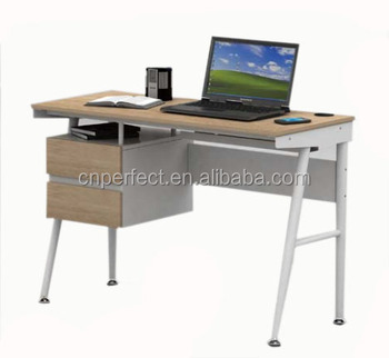 Office Cheap Metal Computer Desk/Modern Stainless Steel Office Desk Low  Price