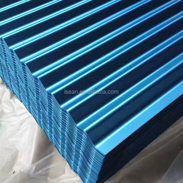 2018 Hot Corrugated Galvanized Steel Gi Gl Roofing Wave Tile Direct Mill