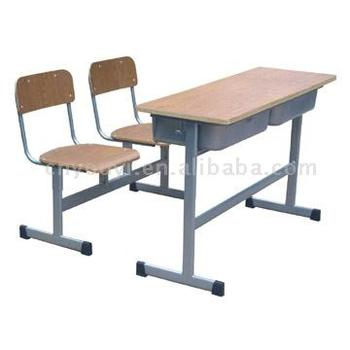 Double School Desk And Chair Buy Classroom Furniture Student Desk And Chair