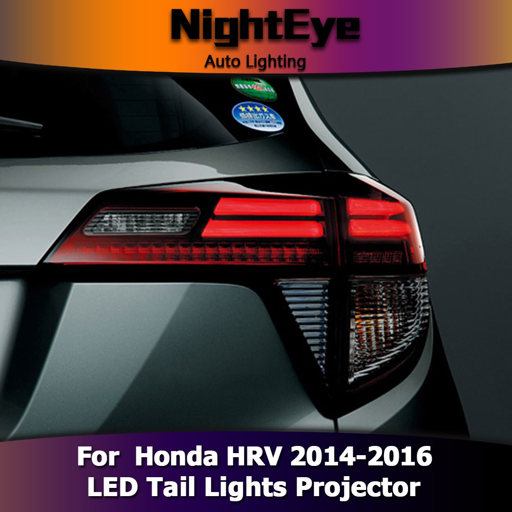 NightEye Car Styling for Honda HRV Tail Lights 2014-2016 Car Accessories Led
