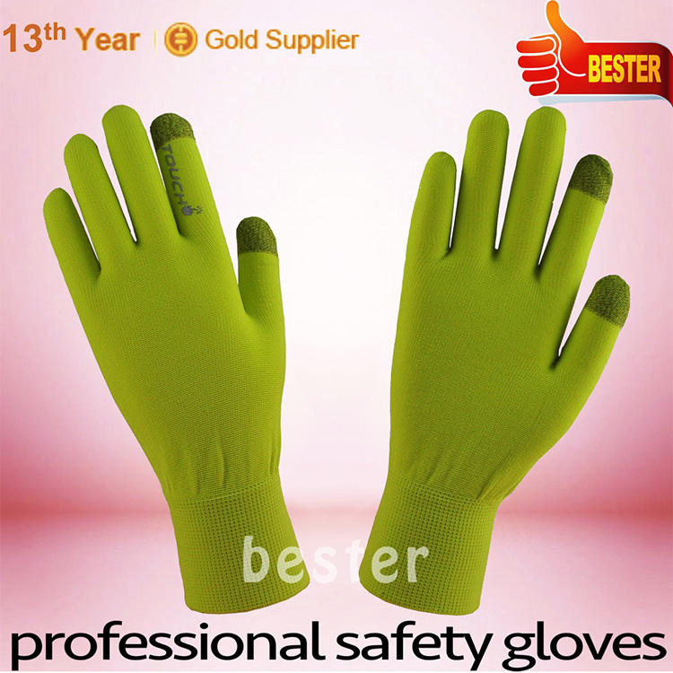 China good supplier competitive touch phone screen glove