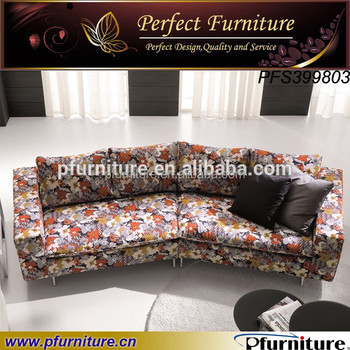 Living Room Floral Furniture Sectional Sofa