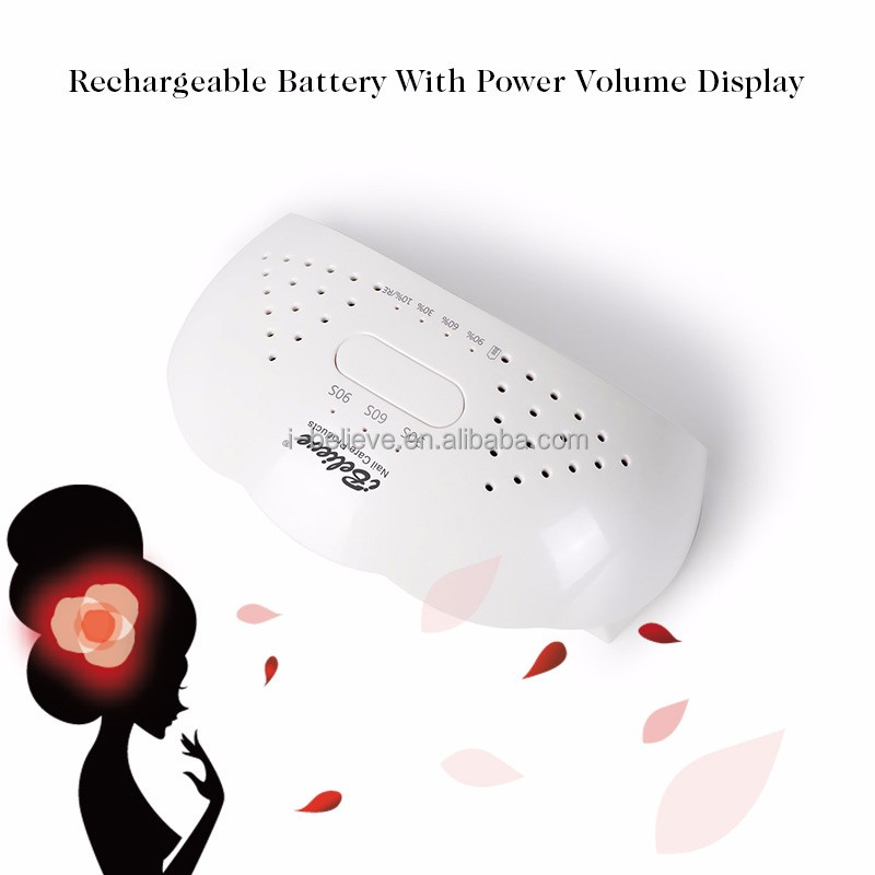 i believe rechargeable cordless finger uv led nail led lamp dryer