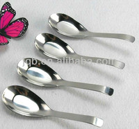 high quality metal dinner soup spoon