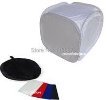 60 x 60 x 60 cm 24″ Collapsible Photo Photography Studio Light Lighting Tent Soft Box Softbox for DSLR Camera Film + 4 Backdrops