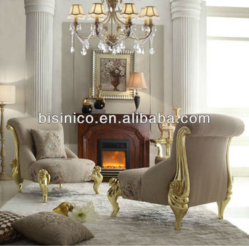 Ultra Mod Victorian Style Reclining Sofa Chair/Occasional Chair And  Fireplace, Living Room Furniture