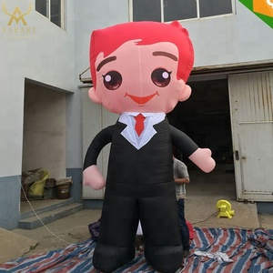 Lovely inflatable Groom cartoon character for outdoor event decoration