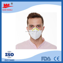 Customize ISO, CE, Nelson Certified Disposable Nonwoven Products respirator with valve