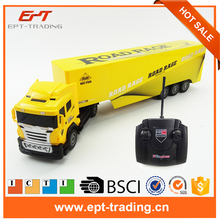 RC Truck 8 Channel Tipper Lorry Remote Control Tow Truck High Simulation RC Project Tilting Cart Engineering Electronic Toys