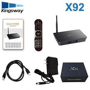 HOT S912 X92 Smart hd Digital Set top Box Android hd Karaoke Player Full  1080p 4k 3d Video kd tvb TV Box