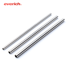 Everich OEM/ODM high quality stainless steel bubble tea straw metal straw keychain 316 stainless steel straw
