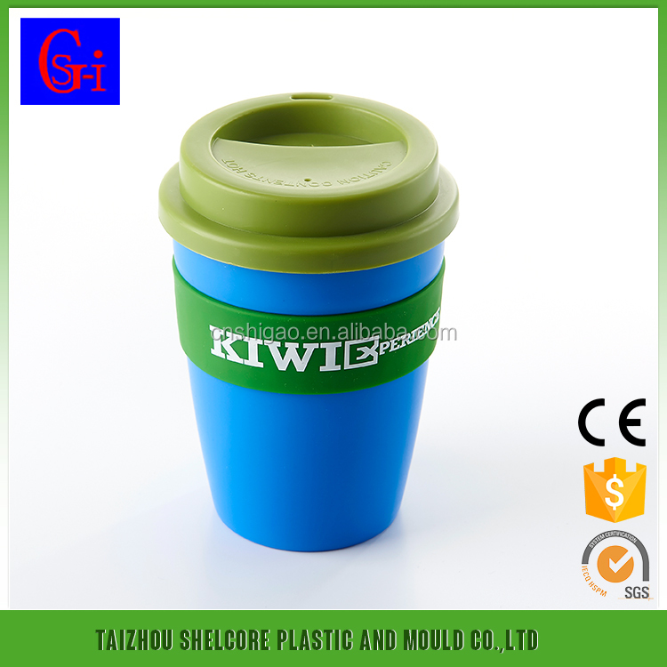 Hot selling plastic cafe cup wedding return gift coffee cup