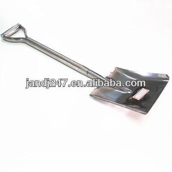 snow shovels/garden shovels/stainless steel shovel from guangzhou garden shovels