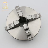 K12 Series high precision self centering 100mm 4 jaw lathe chuck
