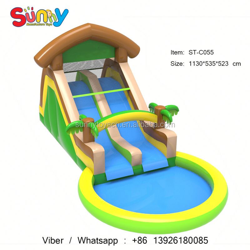 Excellent quality bungee run inflatable for children small inflatable arch commercial cheap jumbo water slide inflatable
