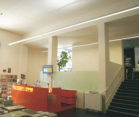 Aluminum Profile Suspended Led Linear Lighting System Office - Buy ...