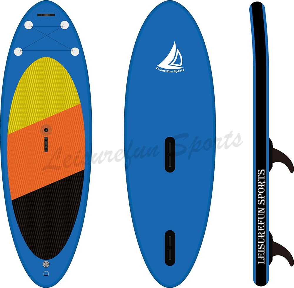 2017 high quality inflatable windsurf board