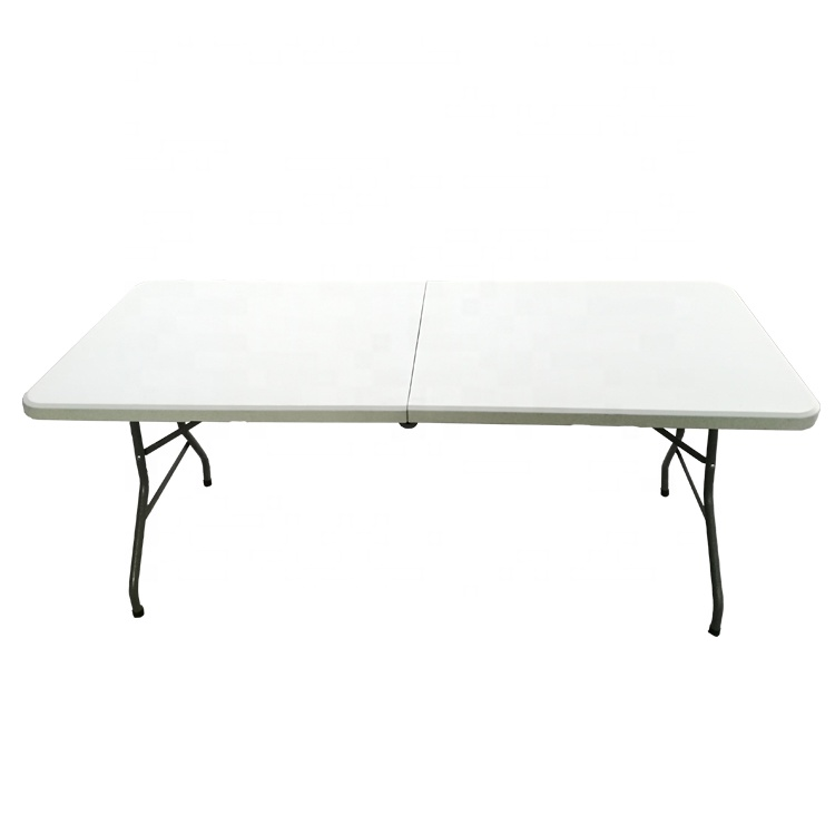 hot sale 6ft outdoor portable folding foldable dinning <strong>table</strong> rectangular
