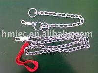 zinc plated nylon handle belt steel dog chain