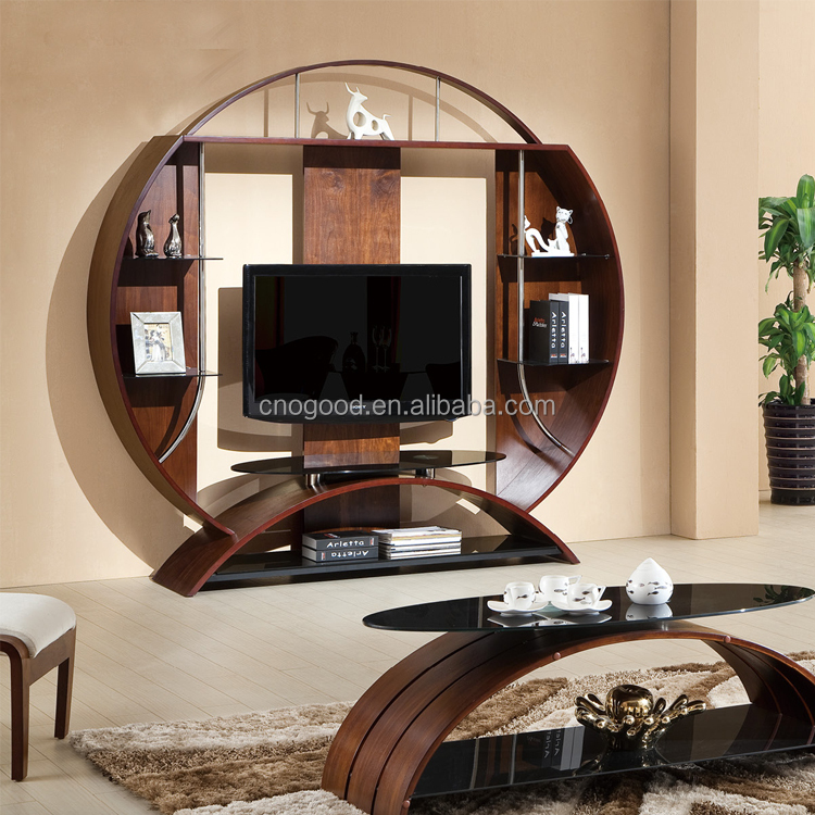 Wooden Lcd Tv Stand Italian Modern Unique Design Tv Stands