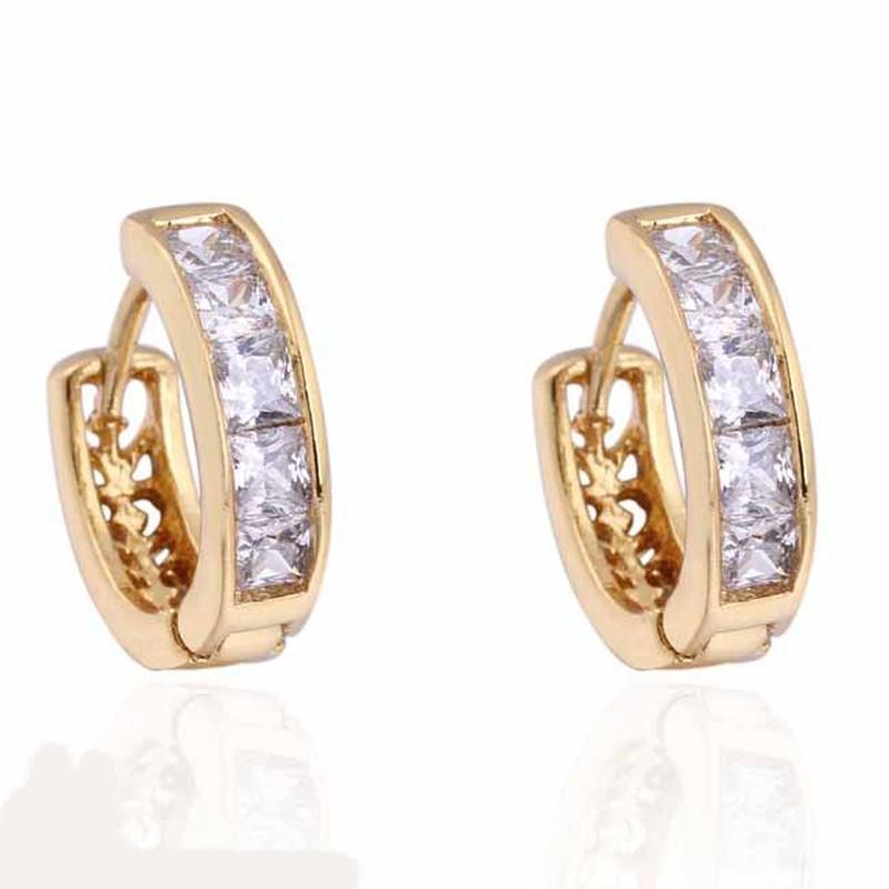 Wholesale Fashion New 2017 Latest Gold Earring Designs Dubai Gold ...