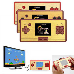 coolbaby RS-20 2.6 Inch Handheld Game Console Support TV-OUT Plug-and-play Built-in 600 Classic Games (Red)
