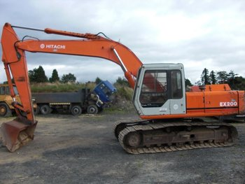 Hitachi Ex200 1 Excavator Buy Excavator Product On