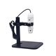 USB Digital Microscope Magnifier Video Camera, 8 LED Illumination With Intensity Control,Base Stand With Scale Plate