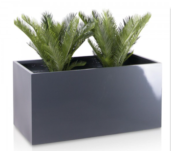 Painted Color Rectangular Resin Indoor Pot Planter Boxes - Buy ...