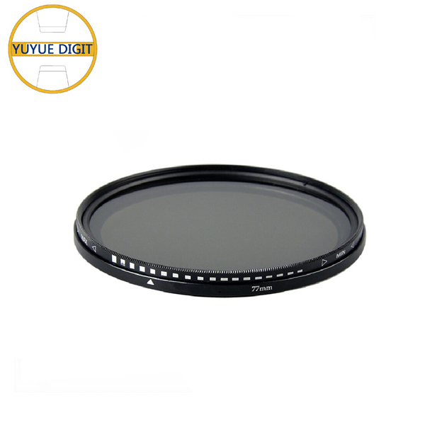 37mm46mm52mm58mm62mm67mm77mm82mm86mm glass material Variable ND Filters adjustable for camera