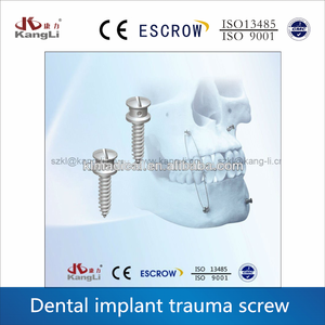1.5mm and 2.0mm titanium screw implant dental