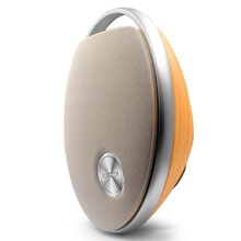 Amazon High end Bluetooth Speaker with Super Bass, Wood Grain Home Audio