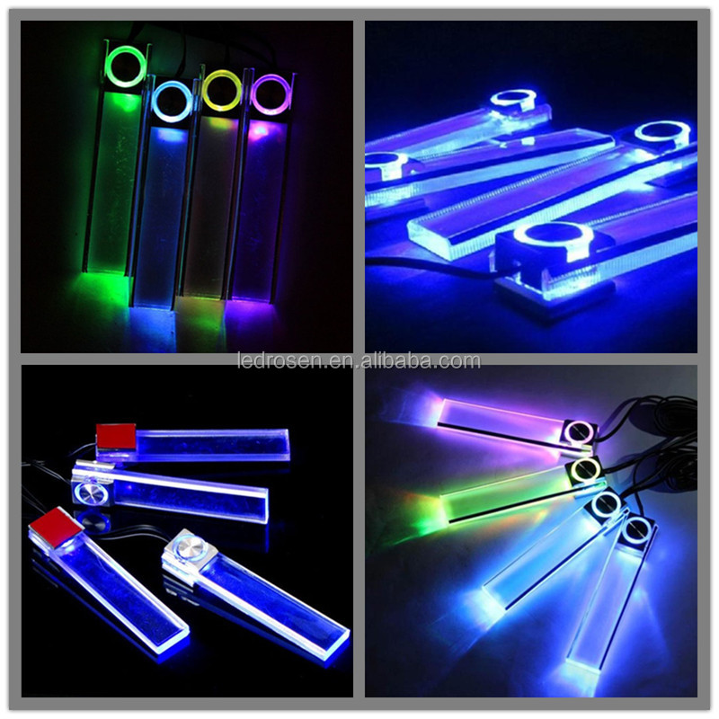 Car Interior Dash Light,Led Neon Light Kit,Car Footwell Led Light ...