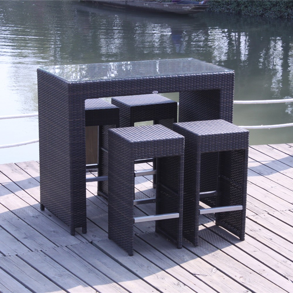 4 Seater Garden Furniture Bar