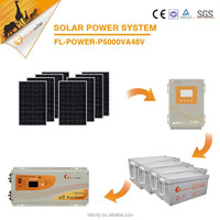 High quality hot selling products high efficiency 5kw solar system 220v price in pakistan