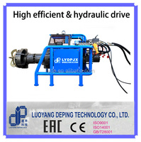 oil & gas pipe end preparation automatic portable pipe facing machine