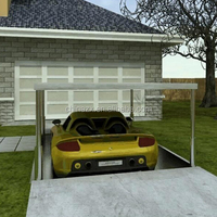 Lifing Invisible Underground Garage For Car Packing