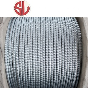 Hot Sale Galvanized Steel Wire Rope 6*37 Steel cable
