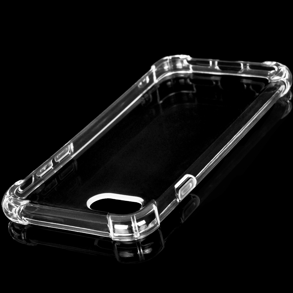 DFIFAN Clear tpu protective case for iphone 7, soft flexible shockproof cover case for iphone 7