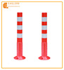 Reflective 75cm PU Flexible Warning Post bollard for Road
