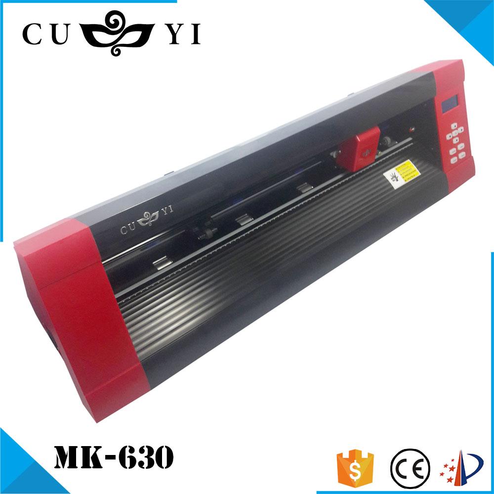 CUYI MK-630 Red Custom Edition Vinyl Sticker Cutting Plotter Machine
