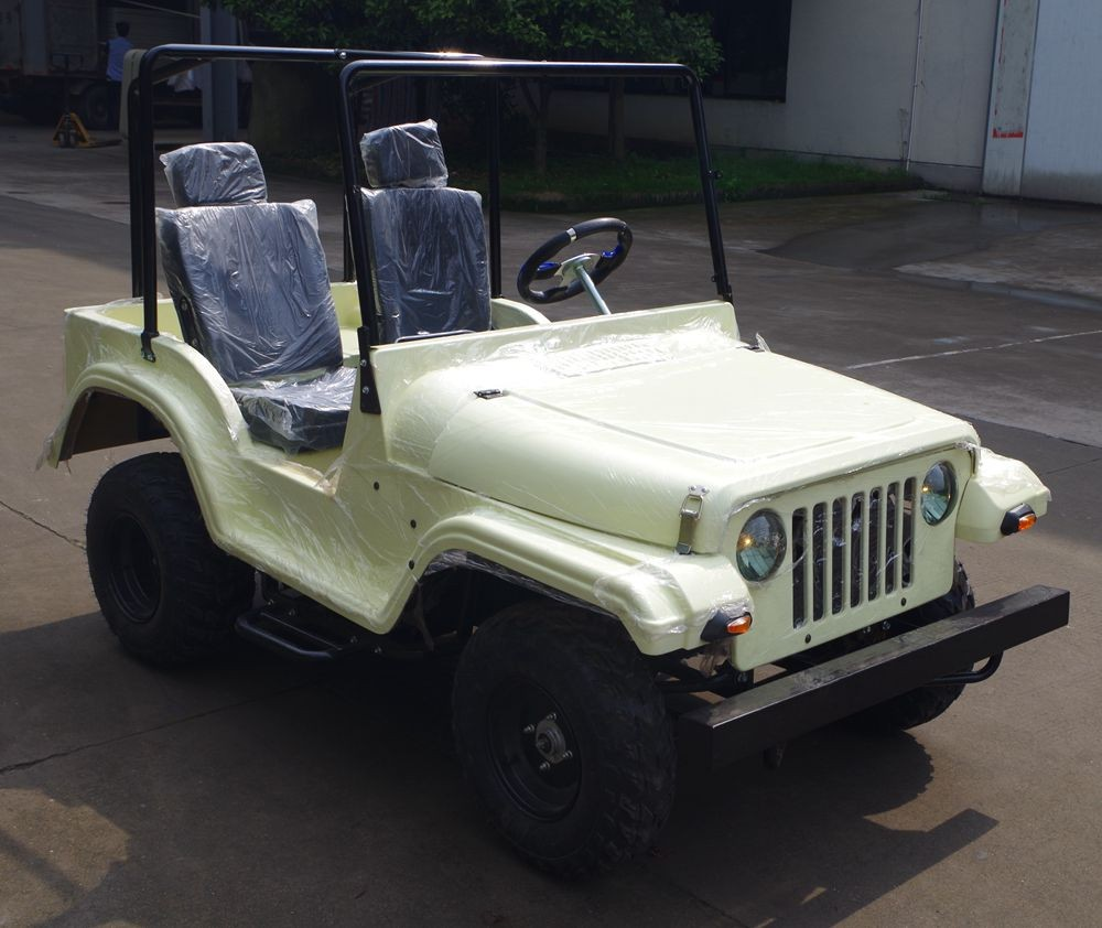 New off-road Automatic CE 150cc 200cc 4 wheel quad bike / mini jeep